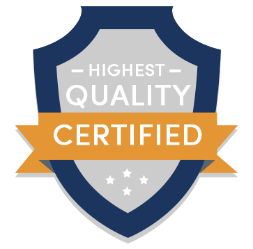 Highest Quality Certified